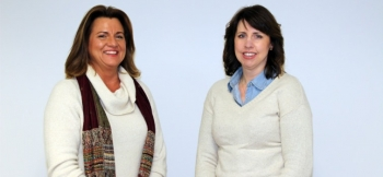 (Left to right) Kennetha Eikelberg and Elizabeth Ross were appointed to the Oak Ridge Site Specific Advisory Board in February 2016.