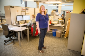 Emily Zvolanek is a senior GIS analyst in the Environmental Science Division at Argonne National Laboratory, where she has worked since 2010.