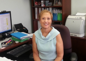 Emily Knouse has worked for the Energy Department for 35 years. In her current position as Senior Management Analyst in the Office of the Chief Information Officer, she helps the office maintain a highly-qualified workforce. | Energy Department photo.