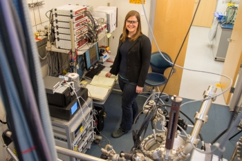Erin Iski received her Bachelor of Science from the University of Tulsa in 2005 and then went on to Tufts University for a Ph.D. in chemistry under the supervision of Prof. Charles Sykes.