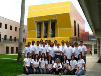 The Florida International University team | courtesy of the FIU team