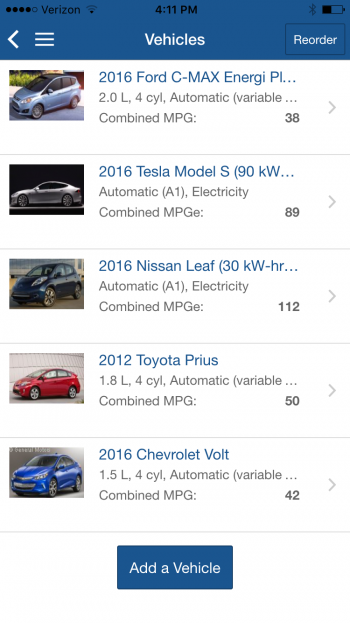 New Find-a-Car App Brings Fuel Economy Right to Your Phone