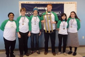 We Have a Winner - DC High School Regional Science Bowl Competition Held Last Saturday
