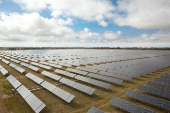 This 25 megawatt installation is owned by Florida Power & Light and was built to help meet the state's renewable energy targets. (Photo courtesy of SunPower)