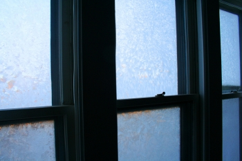 """The frost patterns on your window might be pretty, but they're not helping you save any energy. Energy efficient windows provide an effective barrier from inclement weather.   Photo courtesy of <a href=""""http://www.flickr.com/photos/machineisorganic/4174555202/""""> Callie Reed</a>."""