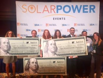 SunShot Prize Teams Meet First Milestone, Win Cash