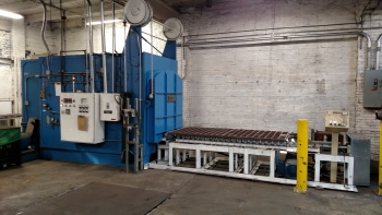 Depicted here is an electric furnace at Kowalski Heat Treating of Cleveland, Ohio. The industrial firm underwent an energy efficiency retrofit through Ohio's Energy Efficiency Program for Manufacturers.