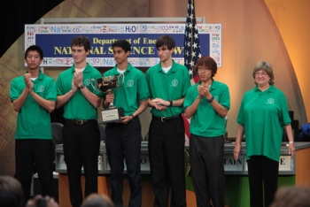 2010 Science Bowl national champions: North Carolina School of Science and Mathematics from Durham, NC  | Department of Energy Photo | Public Domain |