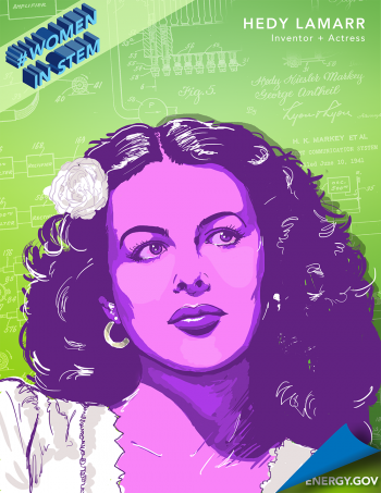 "Hedy Lamarr was a well-known actress in the 1930s and 40s, but she also invented ""frequency hopping"" -- the basis for wireless technology today. 