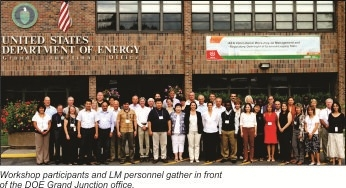 LM Co-Hosts Internatonal Workshop on Uranium Legacy Sites