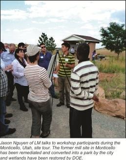 LM Co-Hosts Internatonal Workshop on Uranium Legacy Sites