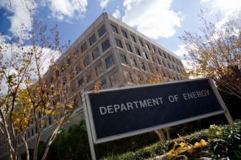 The Energy Departments headquarters at the Forrestal Building in Washington, DC.   Energy Department photo, credit Quentin Kruger.