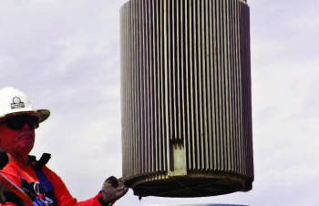 An irradiator from Sandia National Laboratory was disposed of at the RWMS in September 2012.