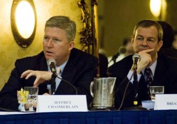 Jeff Chamberlain Speaks at Brookings Battery Forum | Photo Courtesy of Audra Capas, 5StarPR