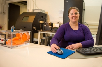 Jennifer Steeb is an assistant chemist in the National Security theme within the Chemical Science and Engineering Division at Argonne National Laboratory.