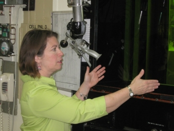 Julie G. Ezold works in the Nuclear Material Processing Group, Nuclear Security & Isotope Technology  Division at Oak Ridge National Laboratory.