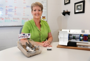 Kelly Lively has worked at Idaho National Laboratory for more than 20 years, and in that time has worn many professional hats, including personnel security, quality assurance inspector, nondestructive testing and project management.