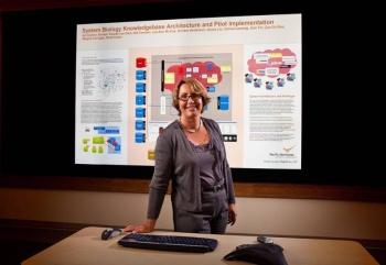 Kerstin Kleese van Dam is an associate division director of the Computational Science and Mathematics Division and leads the Scientific Data Management Group at Pacific Northwest National Laboratory.
