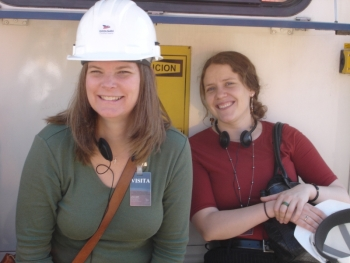 Dr. Kirsten Laurin-Kovitz (left) has nearly twenty years of experience in nuclear reactor analysis, nuclear material safeguards and nuclear nonproliferation.