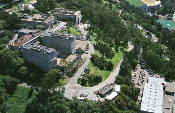 The Lawrence Berkeley National Laboratory headquarters and data center.   Photo courtesy of Lawrence Berkeley National Laboratory.