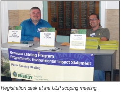 DOE Prepares Programmatic Environmental Impact Statement for the Uranium Leasing Program