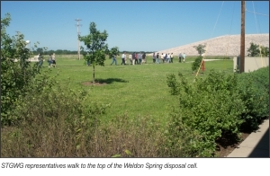 State and Tribal Government Working Group Visits the Weldon Spring Site