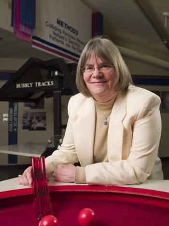Marge Bardeen is the Manager of the Fermilab Education Office, home to the Lab's K-12 programs.