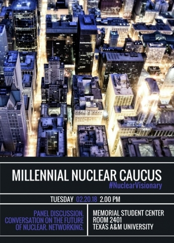 Millennial Nuclear Caucus at Texas A&M University