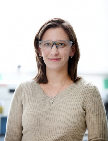Melanie Moses DeBusk is leading ORNL's project on membrane-based water recovery from engine exhaust for both potable water and improved engine efficiency applications.
