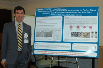 Brandon Mercado, who decided to focus his efforts on renewable energy after hearing President Obama give his 2011 State of the Union address, is now an EERE postdoctoral researcher looking for the next breakthrough in thin-film solar cell efficiency. | Photo courtesy of Martha Payne