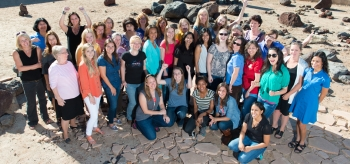 Some of the women working on NASA's Mars Science Laboratory Project, which built and operates the Curiosity Mars rover, gathered for this photo in the Mars Yard used for rover testing at NASA's Jet Propulsion Laboratory, Pasadena, California. Image Credit: NASA/JPL-Caltech