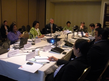 Office of Indian Energy Policy and Programs Director Tracey LeBeau meets with tribal leaders from across the United States in Portland, Oregon to discuss how to advance clean energy deployment in Indian Country. |  The National Conference of State Legislatures