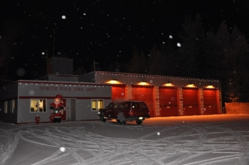 "The city of North Pole, Alaska, is hoping to use $100,000 in Energy Efficiency and Conservation Block Grant funds to improve the energy efficiency of several key city facilities.| Photo courtesy of the a href""http://www.northpolefire.org/"">North Pole Fire Department.</a>"