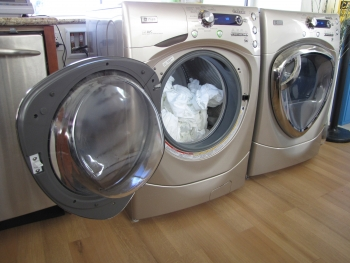 The Energy Department has adopted a new policy, changing the way it administers ENERGY STAR verification testing for appliances such as clothes washers.    Photo by Bethany Sparn, National Renewable Energy Laboratory