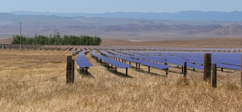 LPO issued a $1.2 billion loan guarantee to California Valley Solar Ranch, a 250-MW photovoltaic solar project located in San Luis Obispo, California. | Photo courtesy of NRG Solar.