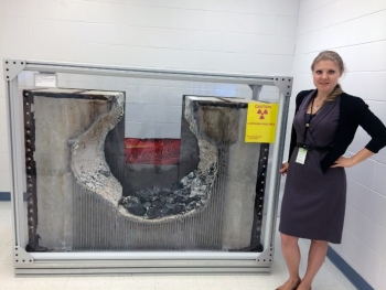 Natalia V. Saraeva is a nuclear engineer at Argonne National Laboratory, where she serves as a project integrator lead for the research reactor conversion program.