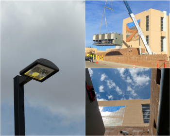 Energy efficiency upgrades in McKinley County, New Mexico made possible by energy savings performance contracts.