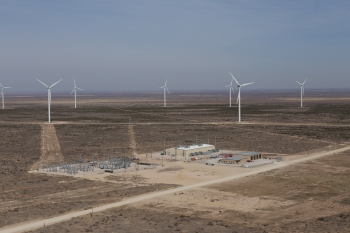 The Notrees Wind Storage Demonstration Project is a 36-megawatt energy storage and power management system, which completed testing and became fully operational in December. It shows how energy storage can moderate the intermittent nature of wind by storing excess energy when the wind is blowing and making it available later to the electric grid to meet customer demand.