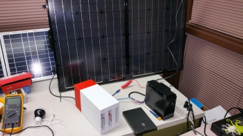 NovoMoto's MicroPlant technology aims to provide renewable, sustainable electricity to communities in sub-Saharan Africa.   Photo courtesy of NovoMoto