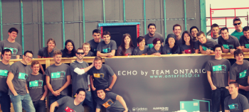 """To fund their Solar Decathlon house, Team Ontario took an """"all hands on deck"""" approach rather than leave the daunting task of fundraising to a few team members.   Photo courtesy of the Energy Department."""