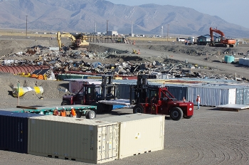 Using an onsite lined landfill to dispose of cleanup debris at the Idaho Site has saved taxpayers hundreds of millions of dollars over the cost of shipping the material offsite for disposal.