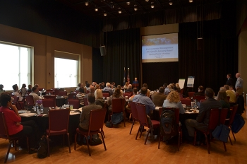 EM Site-Specific Advisory Board (SSAB) Chairs and EM officials attend the spring SSAB Chairs meeting in Paducah, Kentucky.