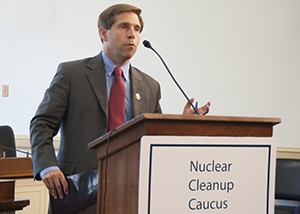 """Caucus Chairman Rep. Chuck Fleischmann said at the event, """"We're getting the job done and I'm so proud of you all."""""""