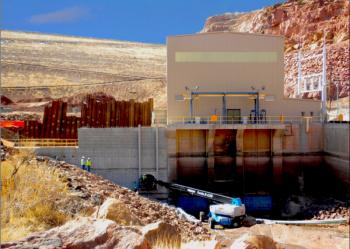 Abiquiu Facility's new powerhouse   Photo Courtesy of Los Alamos County