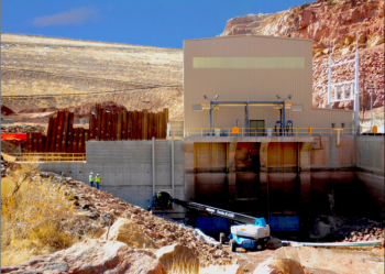 Abiquiu Facility's new powerhouse | Photo Courtesy of Los Alamos County