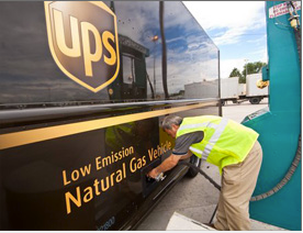 UPS began incorporating alternative fuels and advanced vehicles into its fleet in the late 1980s. Today, the company operates nearly 2,000 vehicles that run on electricity, compressed natural gas, and other alternative fuels.