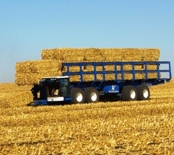 FDC Enterprises Project: Kelderman Manufacturing's Self-Propelled Bale Picking Truck