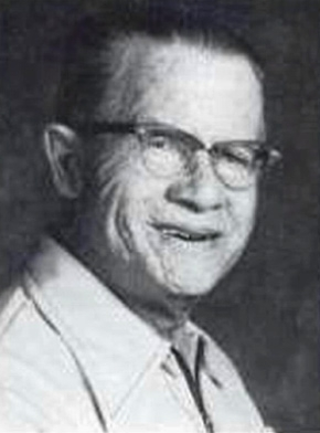 Nuclear chemical operator Harold McCluskey in this undated photo.