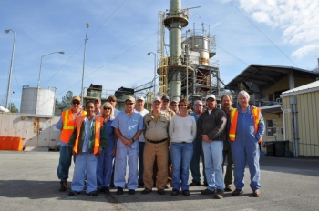 Members of the team that helped safely close the Toxic Substances Control Act Incinerator at Oak Ridge gather for a photo. The team is from URS|CH2M, Oak Ridge, the prime contractor for the Oak Ridge Office of Environmental Management.