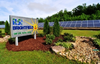 With a focus on beneficial site reuse, RSI worked with DOE's Asset Revitalization Initiative to install a solar farm at the East Tennessee Technology Park.